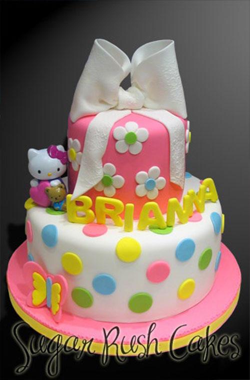 Foto della torta di Hello Kitty n.39