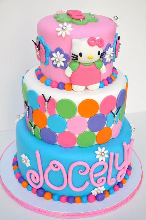 Foto della torta di Hello Kitty n.40