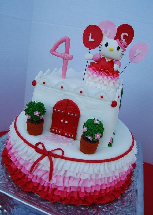 Foto della torta di Hello Kitty n.41