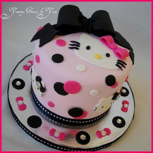 Foto della torta di Hello Kitty n.42