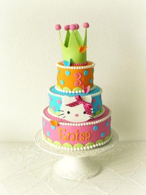 Foto della torta di Hello Kitty n.43