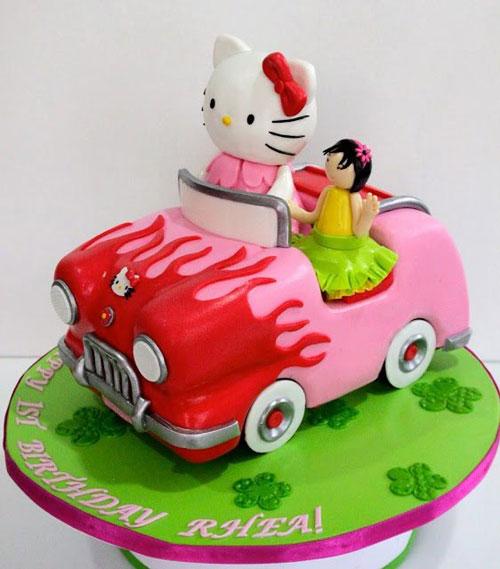 Foto della torta di Hello Kitty n.44