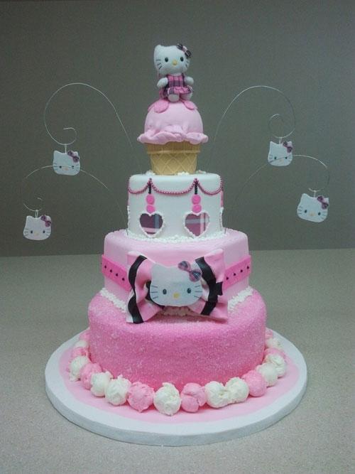 Foto della torta di Hello Kitty n.46