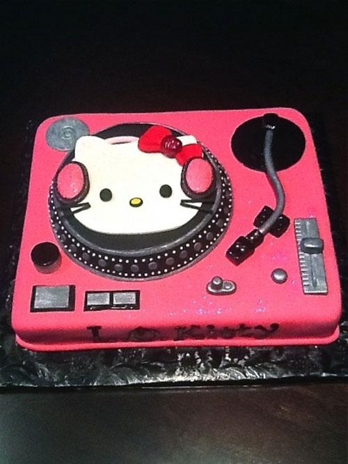 Foto della torta di Hello Kitty n.47