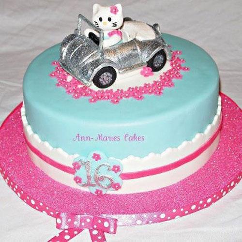 Foto della torta di Hello Kitty n.48