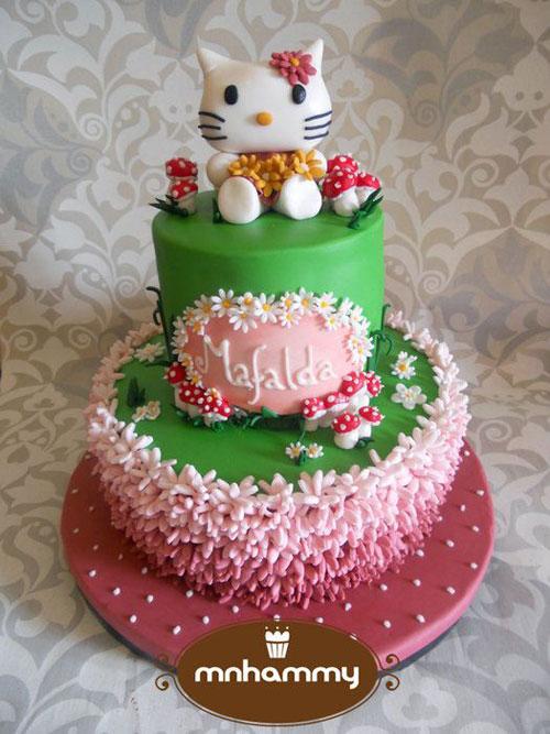 Foto della torta di Hello Kitty n.49