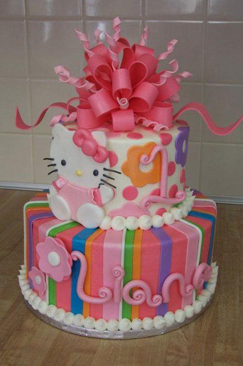 Foto della torta di Hello Kitty n.50
