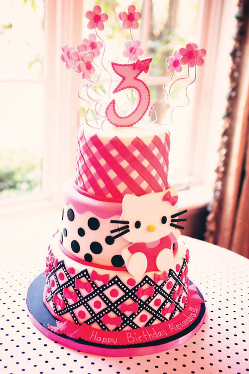 Foto della torta di Hello Kitty n.51