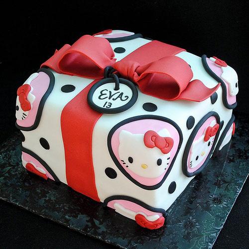 Foto della torta di Hello Kitty n.53