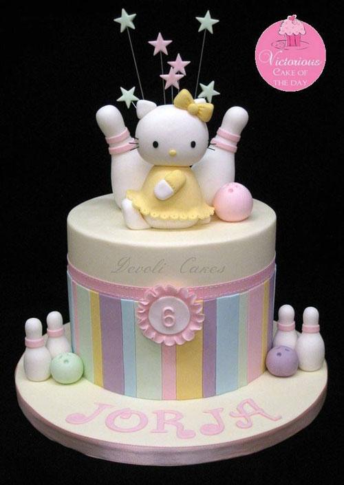 Foto della torta di Hello Kitty n.54