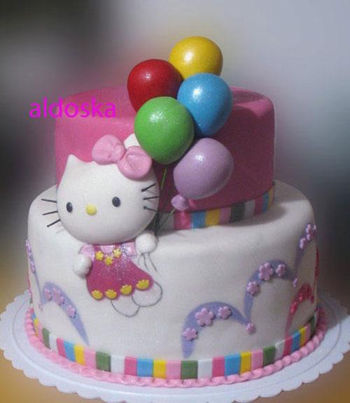 Foto della torta di Hello Kitty n.55