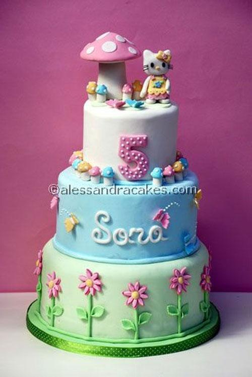 Foto della torta di Hello Kitty n.58