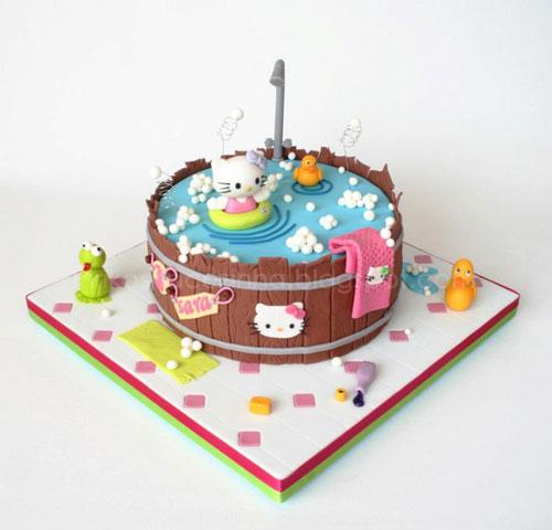 Foto della torta di Hello Kitty n.60