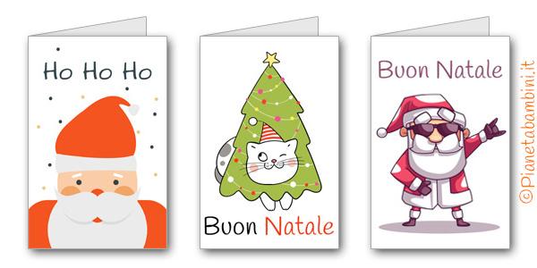 Biglietti Di Auguri Di Buon Natale Gratis.30 Biglietti Di Auguri Di Natale Da Stampare Gratis Pianetabambini It