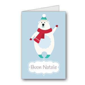 Biglietto di auguri di Natale da stampare n.15