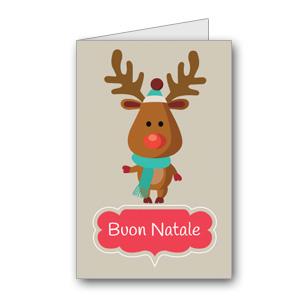 Biglietto di auguri di Natale da stampare n.16
