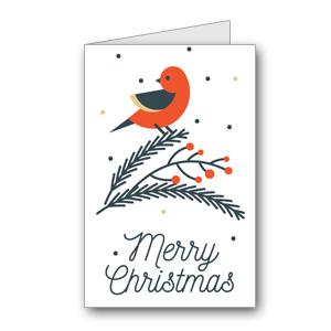 Biglietto di auguri di Natale da stampare n.24