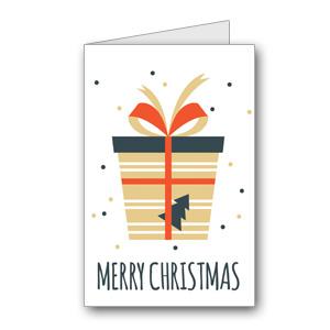 Biglietto di auguri di Natale da stampare n.25