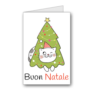 Biglietto di auguri di Natale da stampare n.28