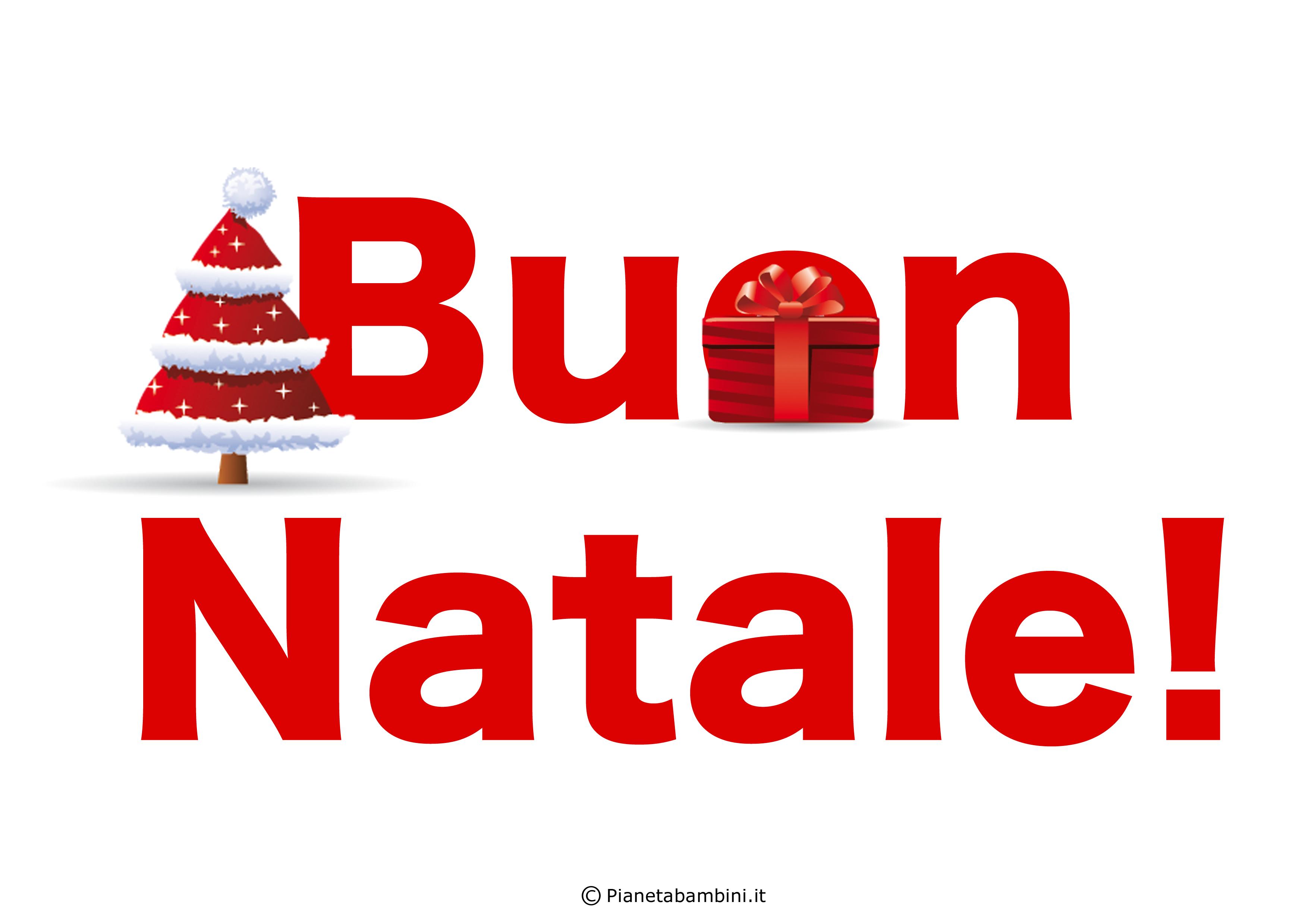 Scritta Buon Natale n 2