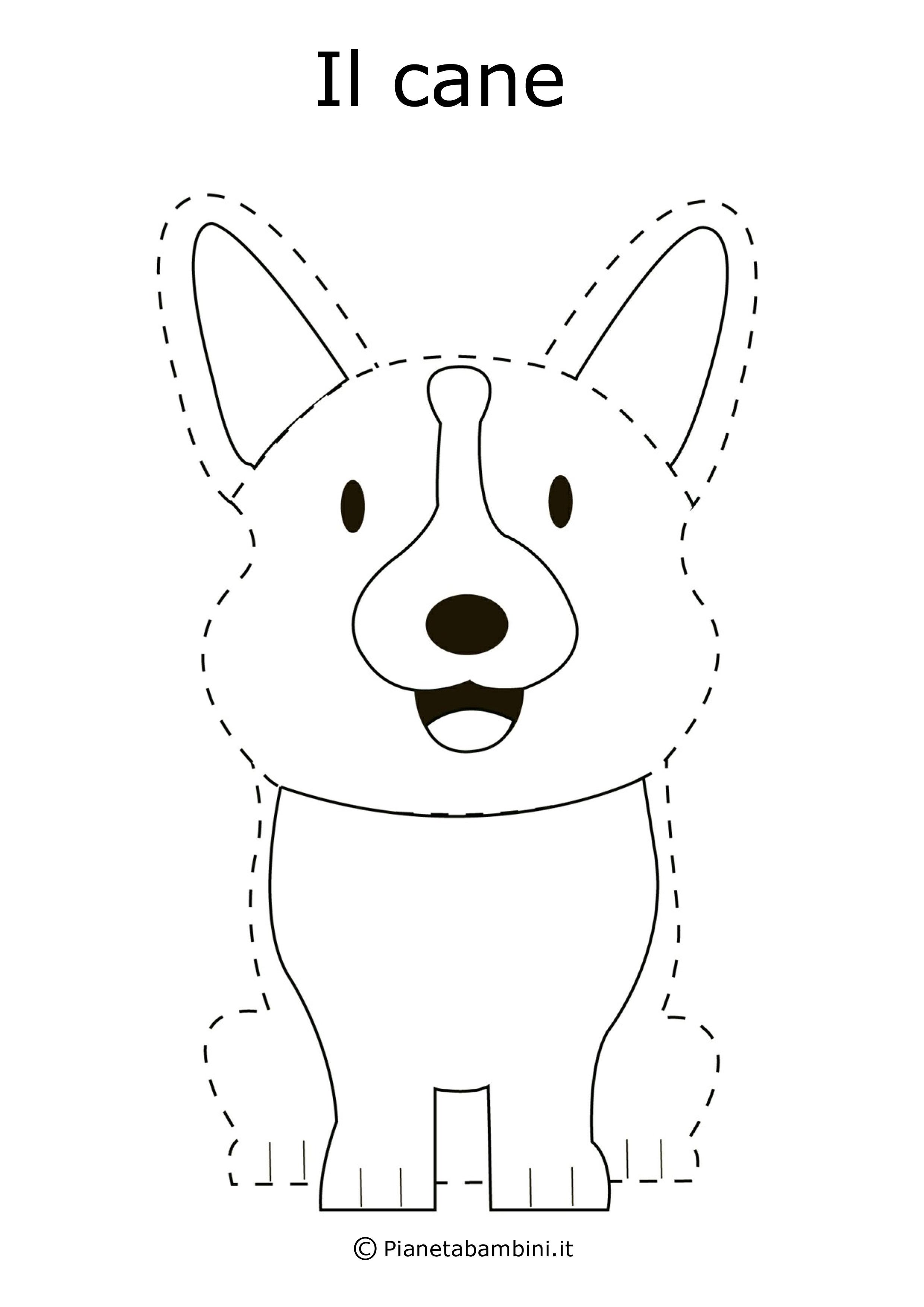 Schede di pregrafismo disegni tratteggiati da completare for Disegni di lupi da stampare