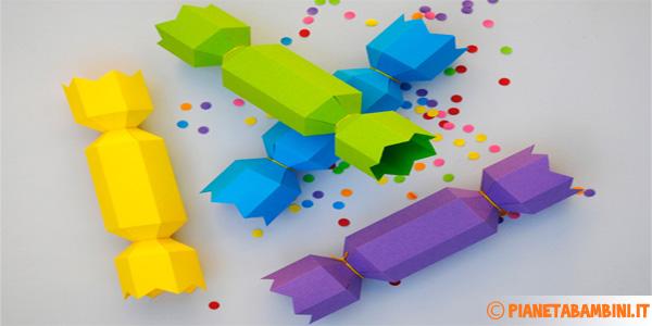 Come creare delle scatoline a forma di caramella