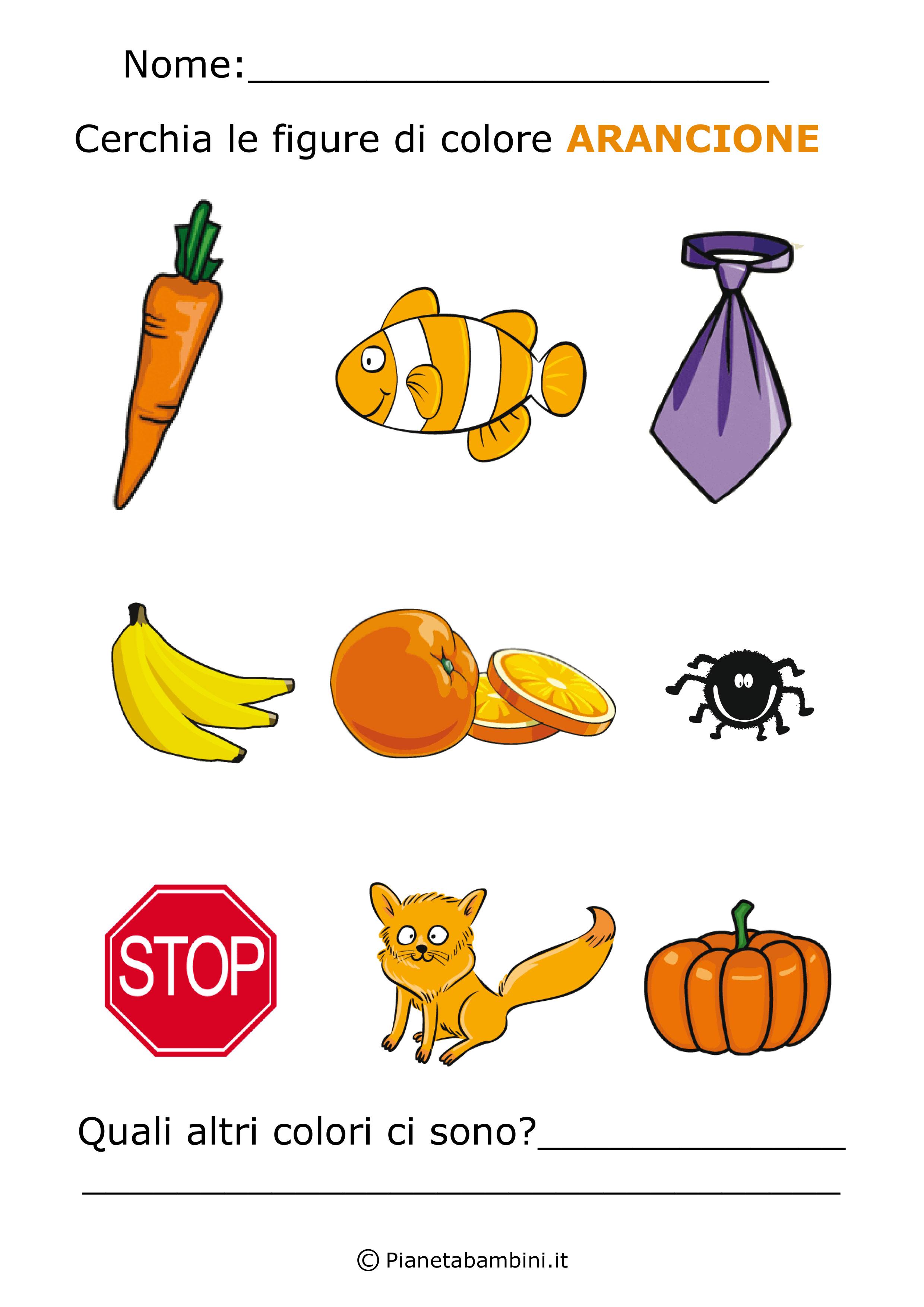 Imparare i colori con schede di giochi da stampare per - Immagine del mouse a colori ...