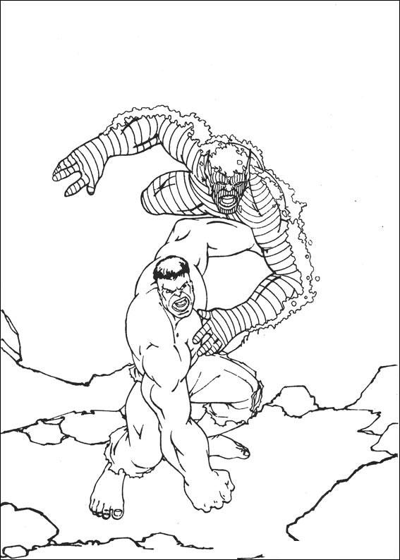99 disegni di hulk da colorare - Coloriage de hulk ...