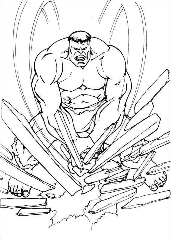 99 Disegni Di Hulk Da Colorare Pianetabambiniit
