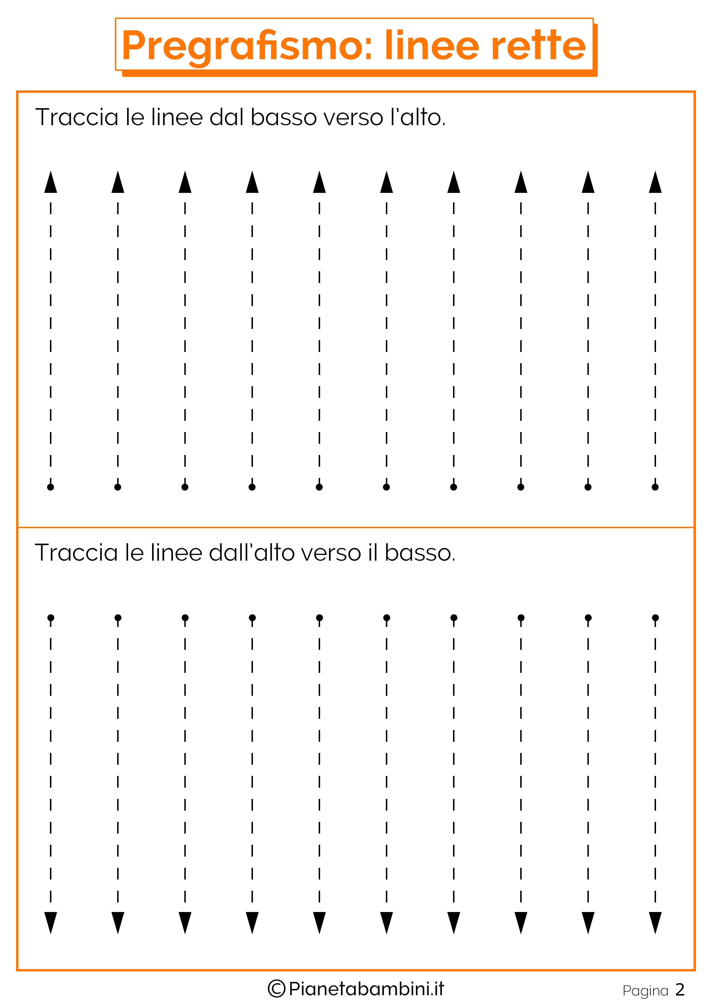 Eccezionale Schede di Pregrafismo di Percorsi con Linee Rette e Curve  CM93