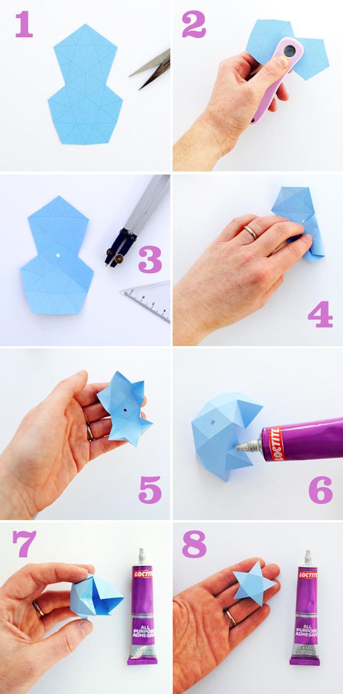 Come creare le stelle di carta