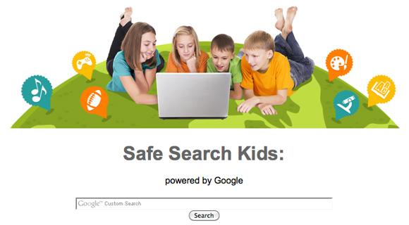 Motore di ricerca Safe search kids