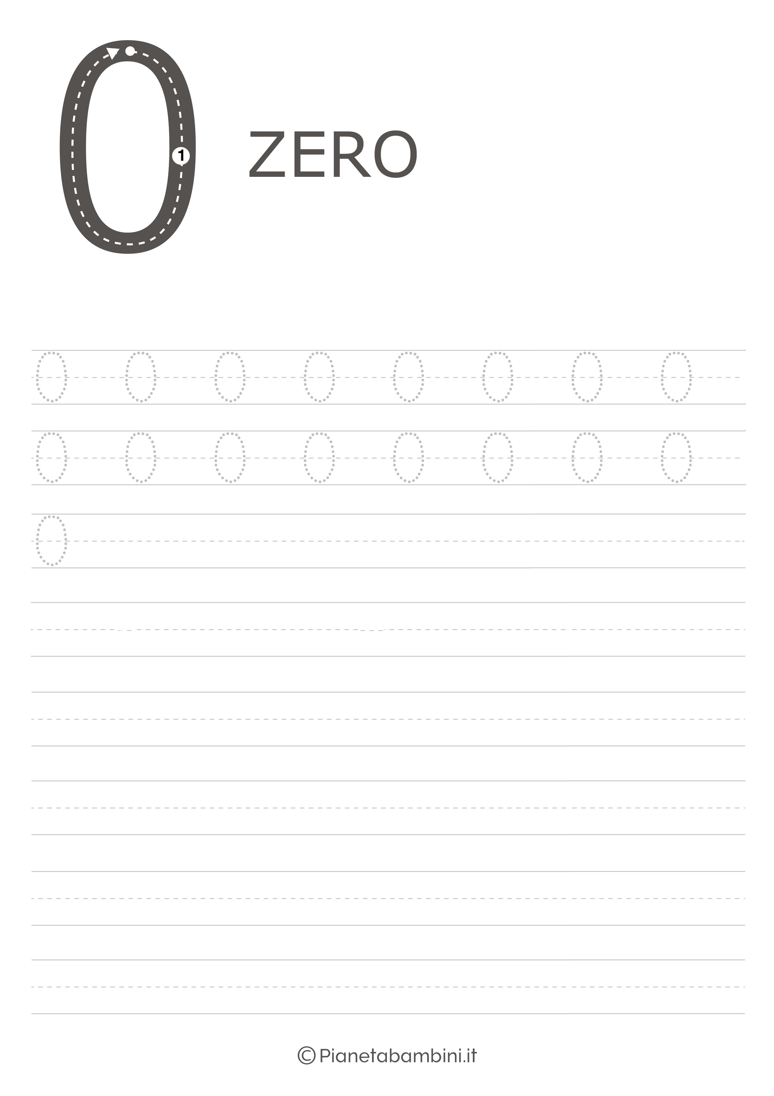 Esercizio pregrafismo numero zero