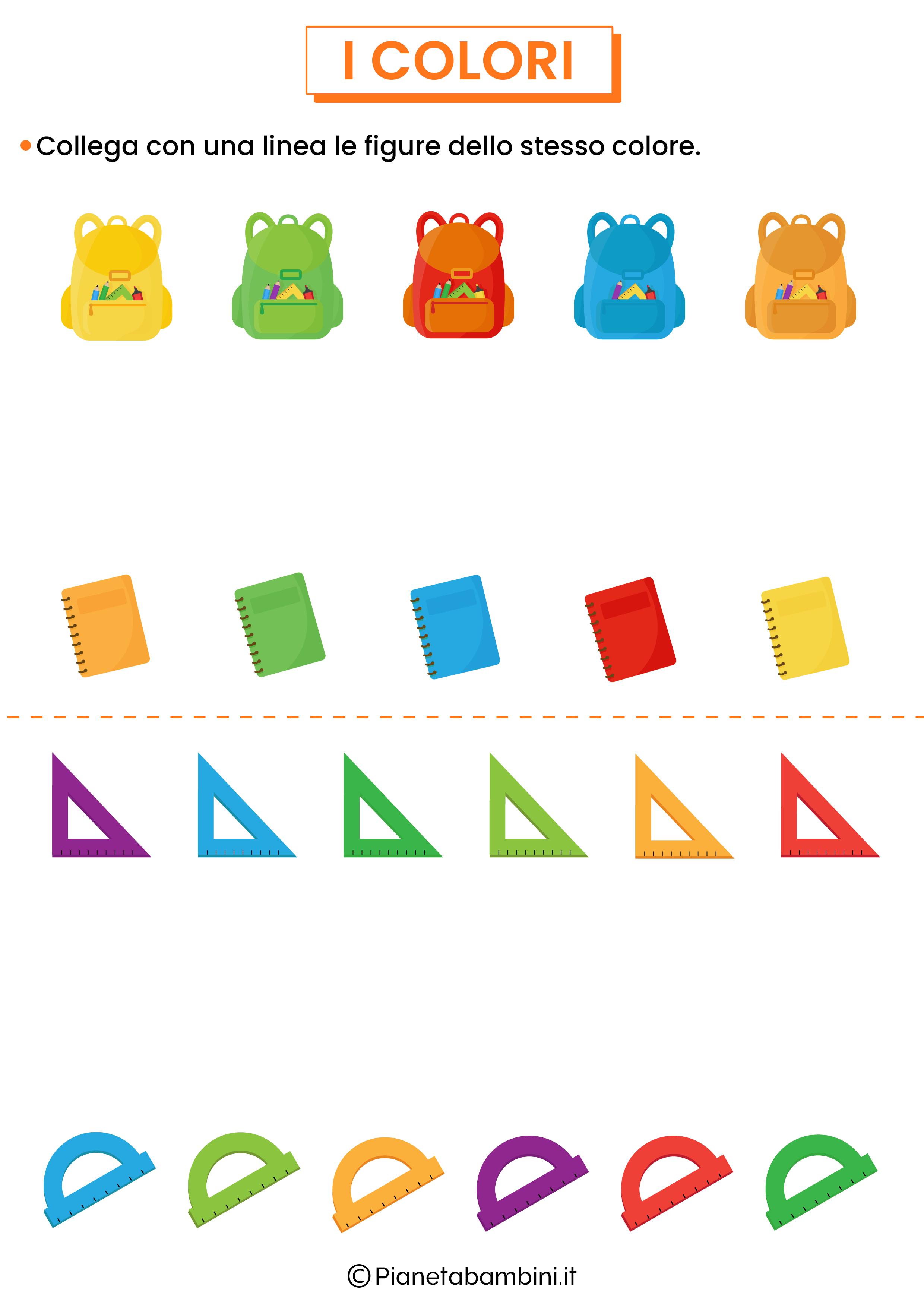 Unisci figure dello stesso colore 2