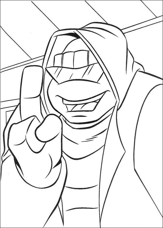 62 Disegni delle Tartarughe Ninja da Colorare ...