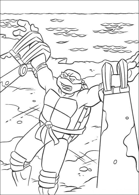 62 Disegni delle Tartarughe Ninja