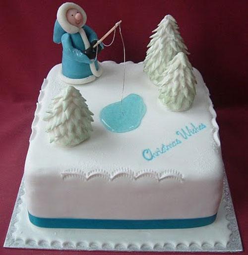Immagine della torta natalizia n.3