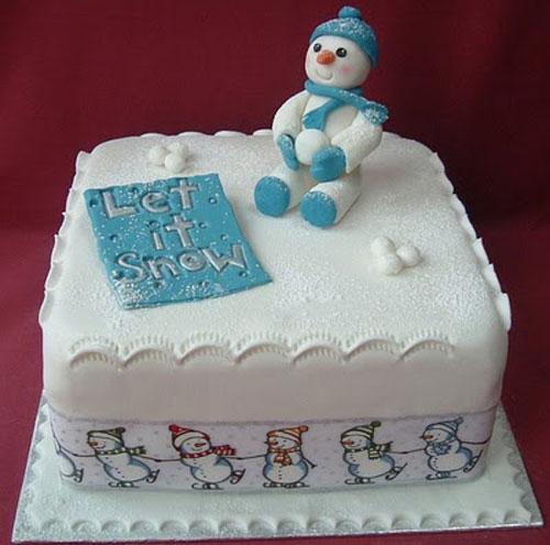 Immagine della torta natalizia n.4