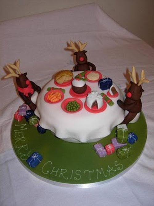Immagine della torta natalizia n.5