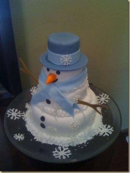 Immagine della torta natalizia n.7