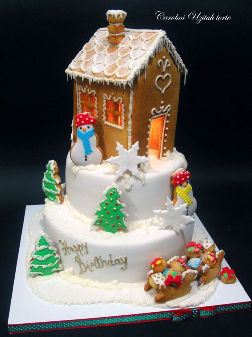 Immagine della torta natalizia n.9