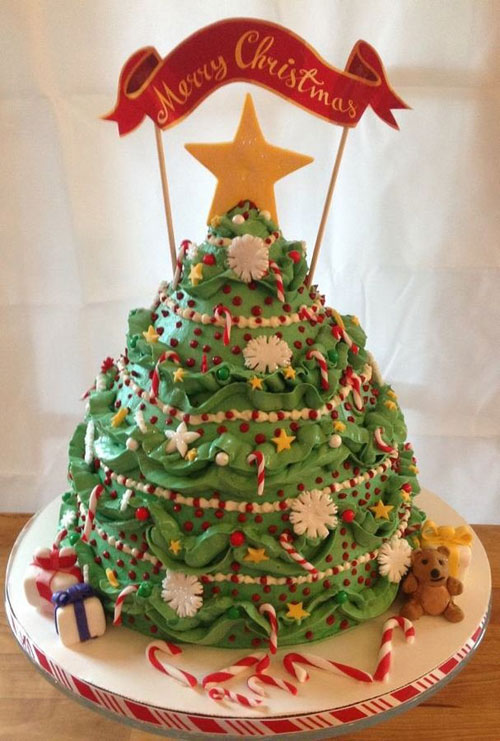 Immagine della torta natalizia n.10