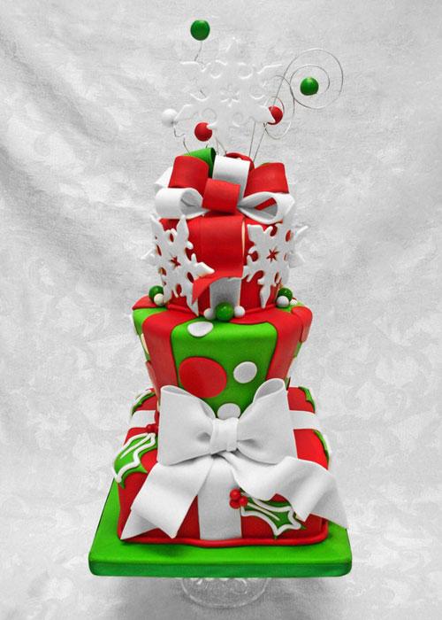Immagine della torta natalizia n.11