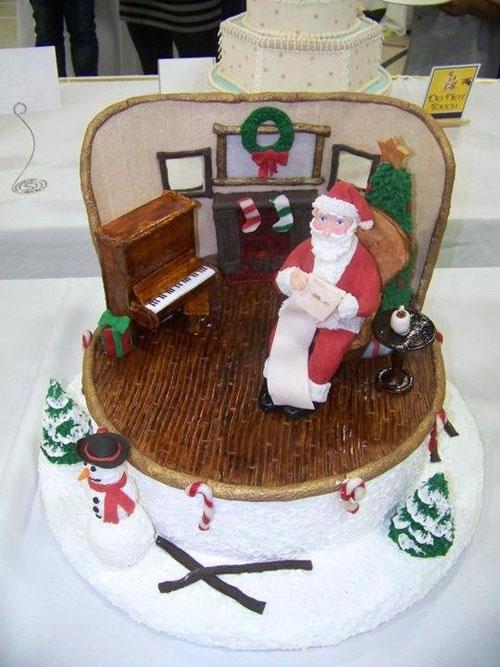 Immagine della torta natalizia n.12