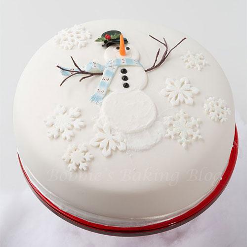 Immagine della torta natalizia n.15