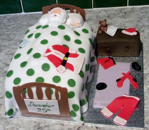 Immagine della torta natalizia n.16