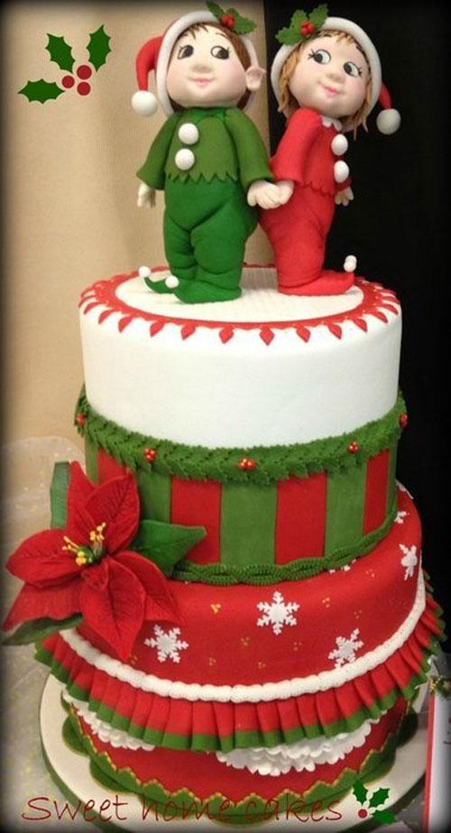 Immagine della torta natalizia n.18