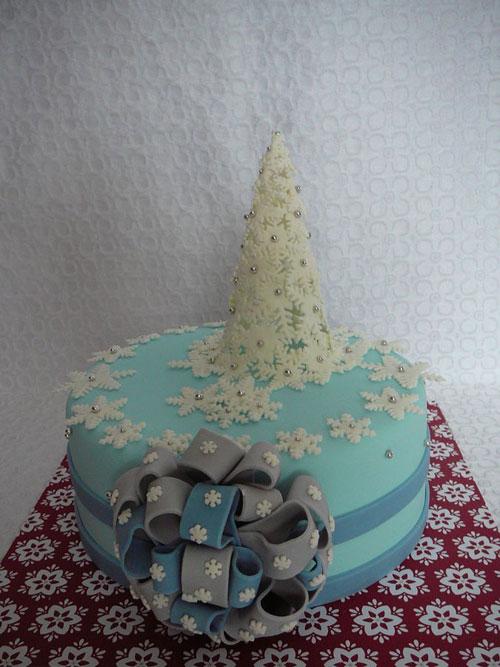 Immagine della torta natalizia n.19