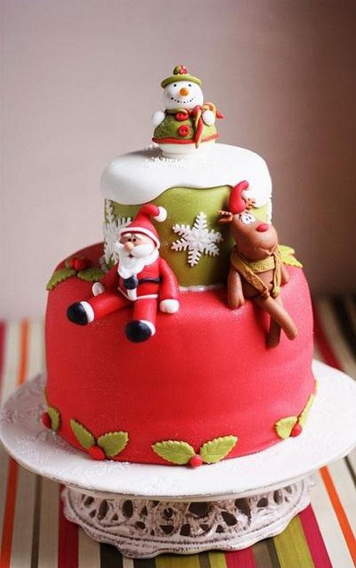 Immagine della torta natalizia n.20