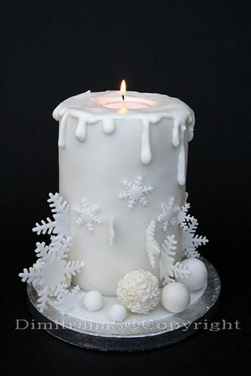 Immagine della torta natalizia n.21